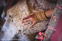 Maharani's mehndi and ring