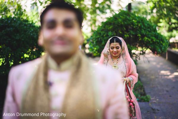 Indian bride meeting Raja
