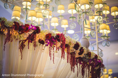 Indian wedding floral design