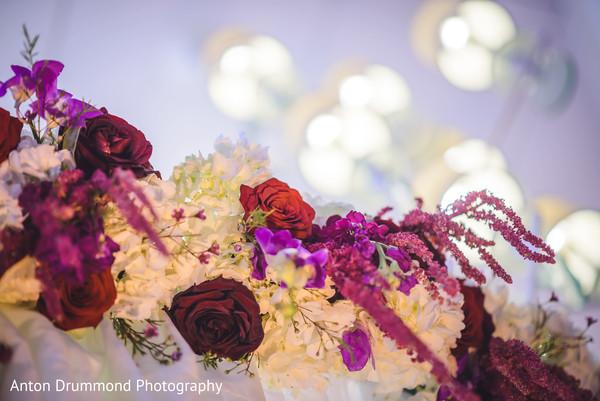 Floral details close up