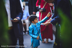 Lovely kid guest during the wedding