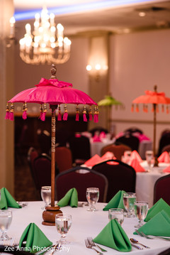 Marvelous Indian umbrella table decor.