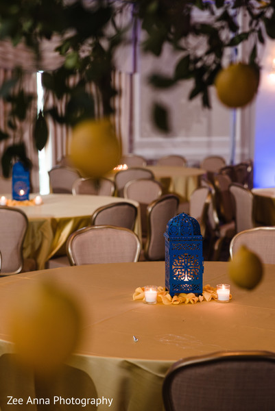 indian pre-wedding decor,table decor