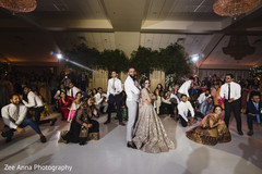 Stunning Indian wedding reception choreography.