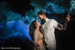 Lovely Indian couple Smoky photo.