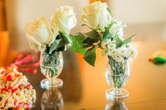 Marvelous Indian wedding roses decor.