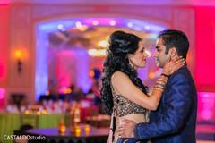 Romantic Indian couple.
