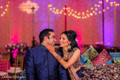 Lovely photo of this lovely Indian couple.