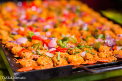 Incredible Sangeet Food dish capture.