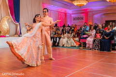 Beautiful Sangeet presentation.