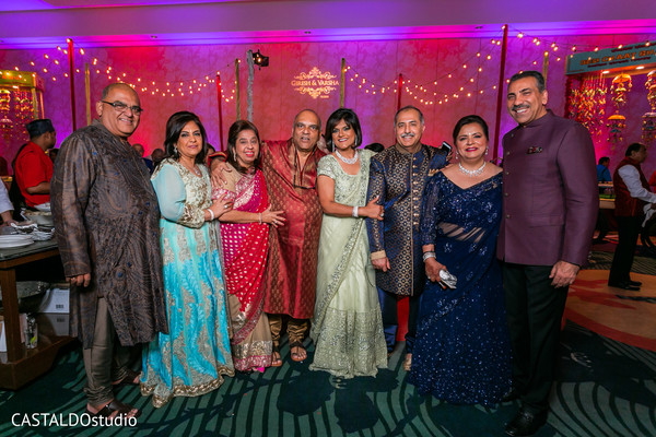 Joyful Sangeet guests capture.