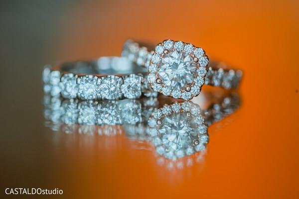 Incredible Indian bridal wedding rings.