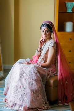 Magnificent Indian bridal photography.