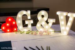 Marvelous Indian wedding  light up letters decor.