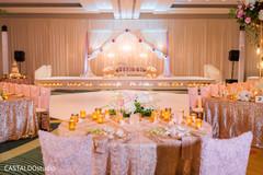 Marvelous Indian wedding table setup.