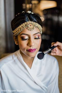 Maharani wearing the tikka