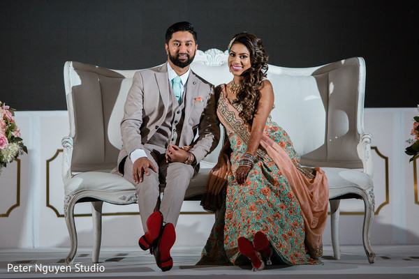 See this incredible looking couple posing