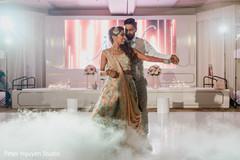 Maharani dancing with Indian groom