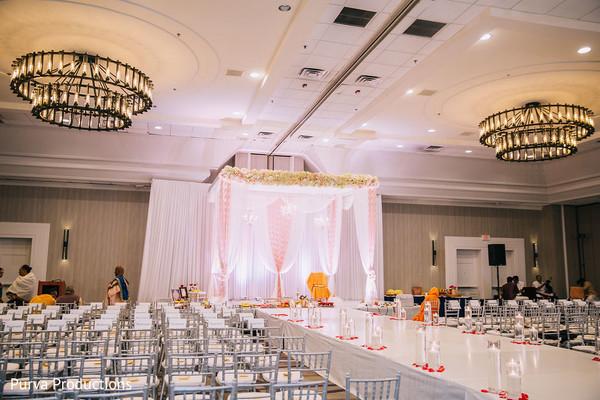 Marvelous Indian wedding mandap decor.