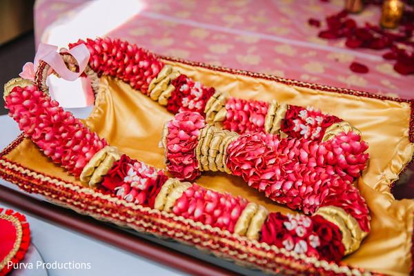 Indian groom's garland capture.