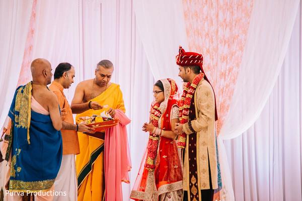 Traditional Indian wedding ritual capture.