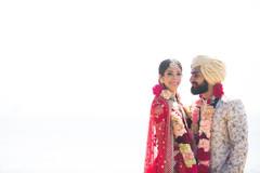 Beautiful capture of the newlyweds