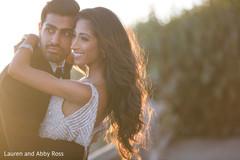 Stunning shot of Indian couple