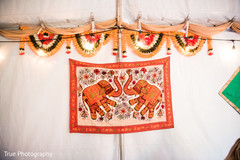 Marvelous mehndi party decor.