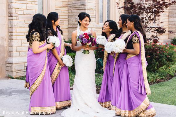 Maharani and bridesmaids