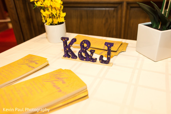 Details of the table at the venue