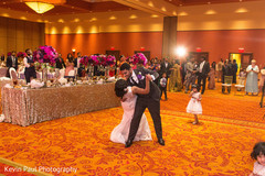 Maharani and Indian groom having their first dance