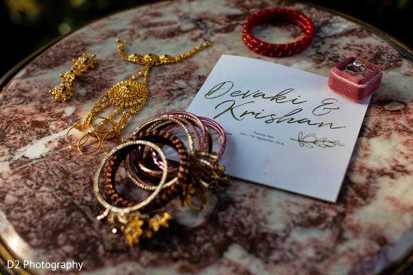 Marvelous Indian bridal ceremony bracelets.