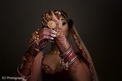 Marvelous Indian bridal haath phool.