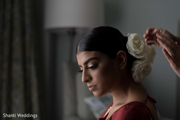 "Maharani getting ready to say ""I do"""