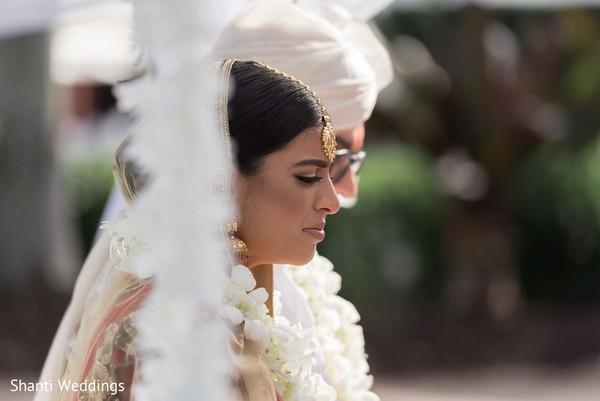 Maharani and Raja during the nuptials