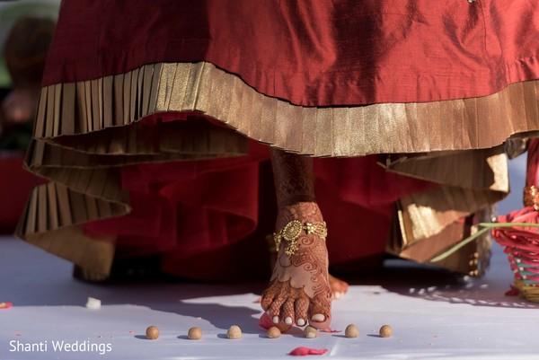 Maharani during the rituals