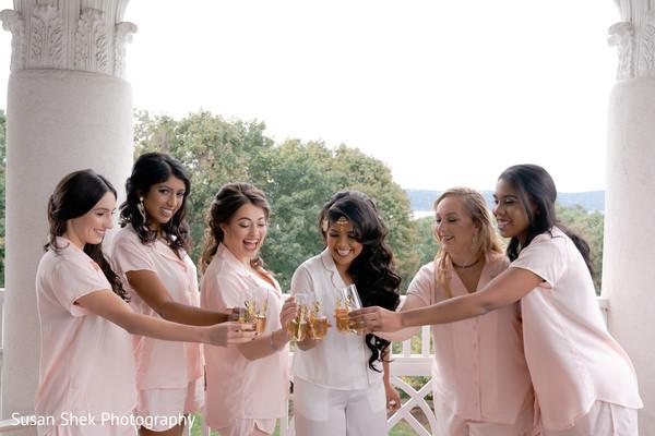 indian bridesmaids,maharani