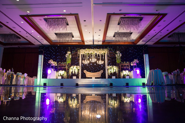 Indian wedding stage design