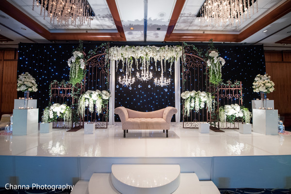 Magnificent indian wedding stage