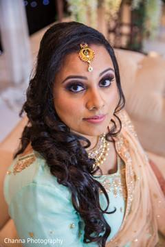 Flawless indian bride makeup