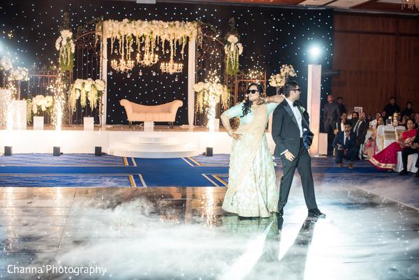 Outstanding indian newlyweds dance performance