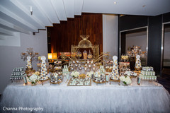Dreamy indian wedding candy station
