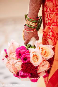 Mehndi details of the bridal