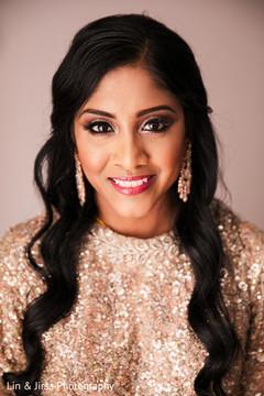 Gorgeous Maharani's makeup