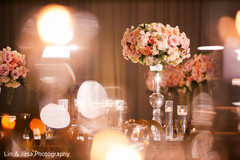Amazing floral design on the table