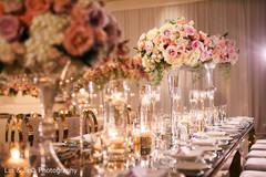 Enchanting floral arrangement details