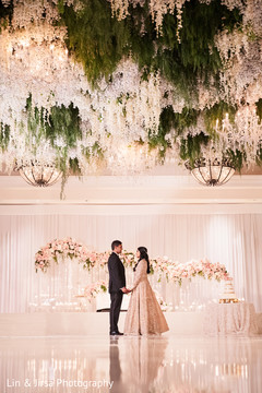 Incredible floral design at the reception
