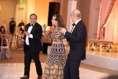 Maharani and special guests dancing