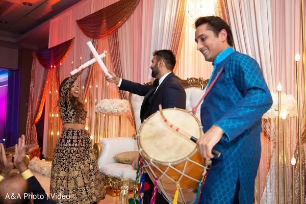 Maharani and Raja during the reception