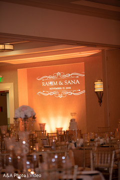 Indian wedding reception overview